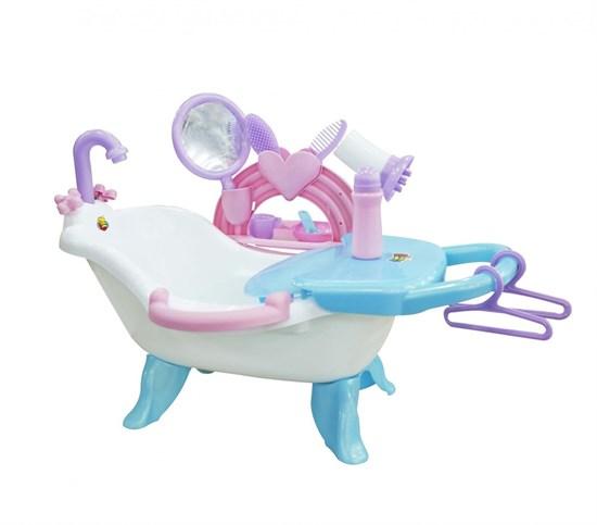 ПОЛЕСЬЕ Набор для купания кукол №2 с аксессуарами (в пакете) 47250