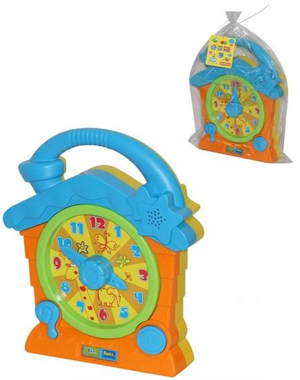 ПОЛЕСЬЕ Говорящие часы (в пакете) 55804