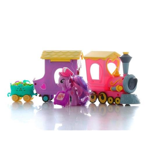 """HASBRO My Little Pony Игровой набор """"Поезд дружбы"""" B5363 - фото 12266"""
