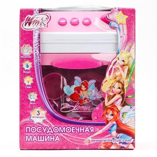 "ИГРАЕМ ВМЕСТЕ Посудомоечная машина ""Winx"" (свет, звук, вода) 1602 - фото 12270"