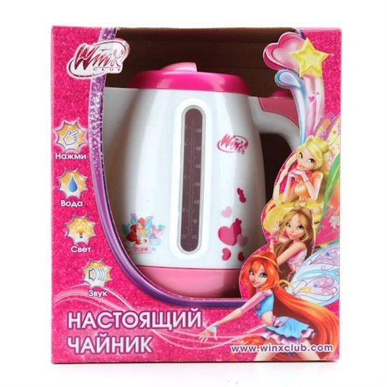 """ИГРАЕМ ВМЕСТЕ Игрушечный чайник """"Winx"""" (свет, звук) 16273"""