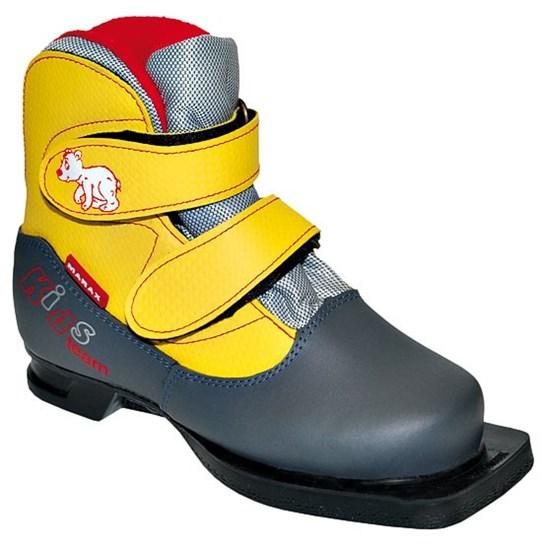 Ботинки лыжные 75 мм MARAX Kids (на липучке)