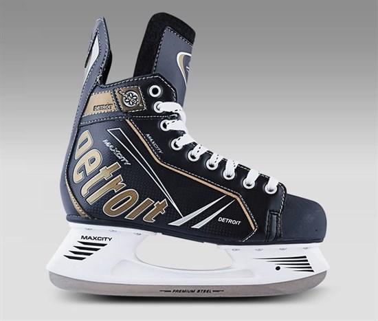 MAXCITY Коньки хоккейные DETROIT - фото 14600
