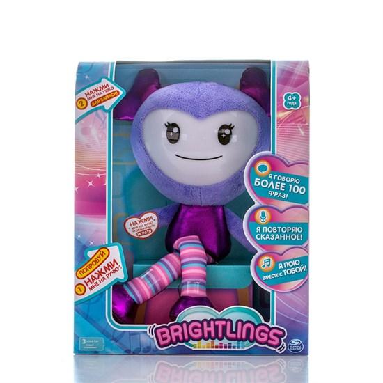 BRIGHTLINGS Музыкальная интерактивная кукла сиреневая 52300-1