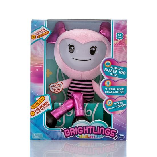 BRIGHTLINGS Музыкальная интерактивная кукла розовая 52300-2