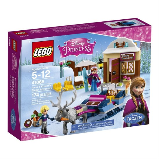 "LEGO Конструктор ""DISNEY PRINCESS. Анна и Кристоф: прогулка на санях"" 41066 - фото 14664"
