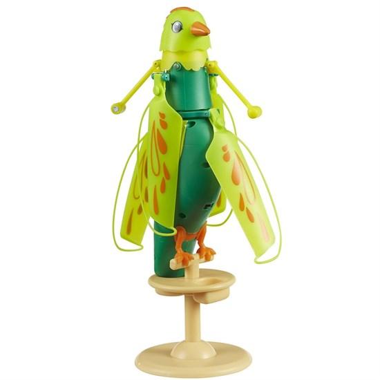 Интерактивная летающая птичка Zippi Pets (звук), зеленая 201505000