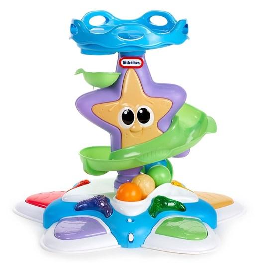 """LITTLE TIKES Развивающая игрушка """"Морская звезда"""" с горкой-спиралью (свет, звук) 638602 - фото 14685"""
