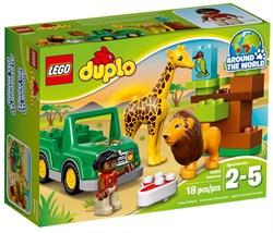 "LEGO Конструктор ""DUPLO. Вокруг света: Африка"" 10802 - фото 16594"