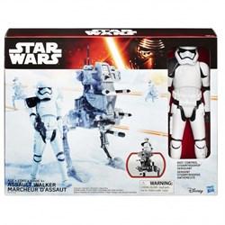 """STAR WARS Игровой набор """"Звездные войны: Титаны"""" - Штурмовик и шагоход, 29 см B3919"""