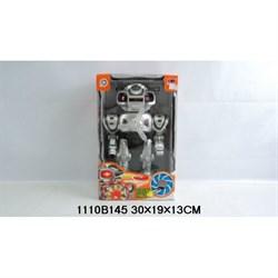 Робот на батарейках со светом и звуком 1101145