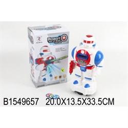 Робот на батарейках со светом и звуком 1549657