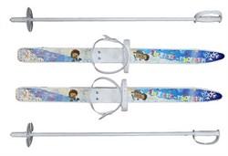 """ЦИКЛ Мини-лыжи """"Пыжики"""" с палками, длина 75 см."""