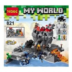 "DECOOL Конструктор ""Minecraft"" 821"