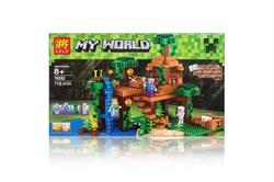 """LELE Конструктор """"Домик на дереве в джунглях"""" Minecraft  79282"""