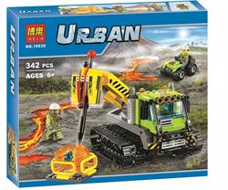 """BELA Конструктор """"Вездеход исследователей вулканов"""" URBAN 10639"""