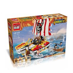 BRICK Конструктор Legendary Pirates - Dragon Ship, 464 детали 1312