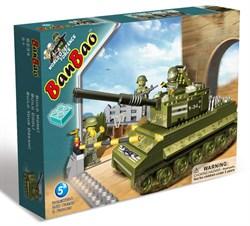 """BANBAO Конструктор """"Танк"""", 260 деталей 8234"""