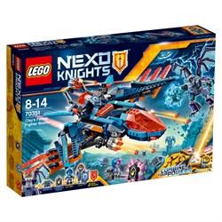 """LEGO Конструктор """"NEXO KNIGHTS. Самолет-истребитель """"Сокол"""" Клэя"""" 70351"""