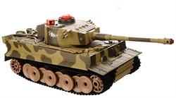 """AB TOYS Радиоуправляемый танк """"Тигр"""" (свет, звук), 1:43 C-00058"""