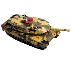 """AB TOYS Радиоуправляемый танк """"Абрамс"""" (свет, звук), 1:43 C-00030"""