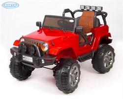 Электромобиль Barty Jeep 4х4 (полный привод) Т010МР красный