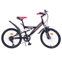 """MUSTANG Велосипед """"PRIME"""" 20"""" 6 ск. цвет красно/черный 239490"""