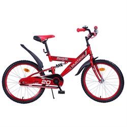 """MUSTANG Велосипед """"PRIME"""" 20"""" цвет красно/черный 239489"""