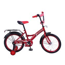 """MUSTANG Велосипед 18"""" цвет красно/черный 239481"""