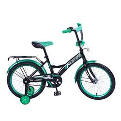 """MUSTANG Велосипед 18"""" цвет черно/зеленый 239480"""