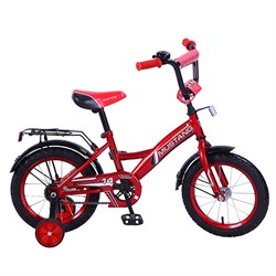 """MUSTANG Велосипед 14"""" цвет красно/черный 239471"""