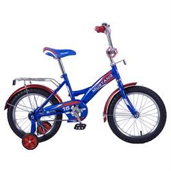 """MUSTANG Велосипед 16"""" цвет сине/красный 239445"""