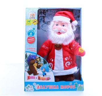 """Мягкая игрушка """"Дед Мороз"""" (звук), 30 см V27441/30A"""
