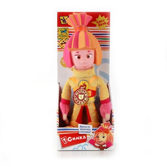 """Мягкая игрушка """"Фиксики"""" - Симка (свет-звук) в коробке, 28 см V41452/28Х"""