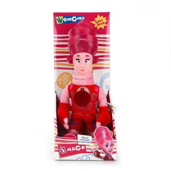 """Мягкая игрушка """"Фиксики"""" - Мася (свет-звук) в коробке, 29 см V41453/29Х"""