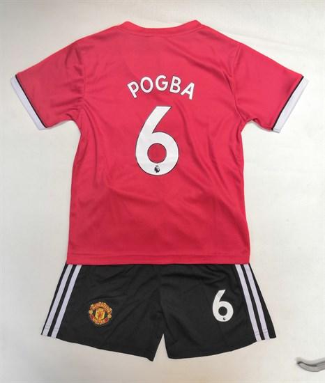 "Комплект ""Футболка + шорты в стиле Манчестер Юнайтед"""
