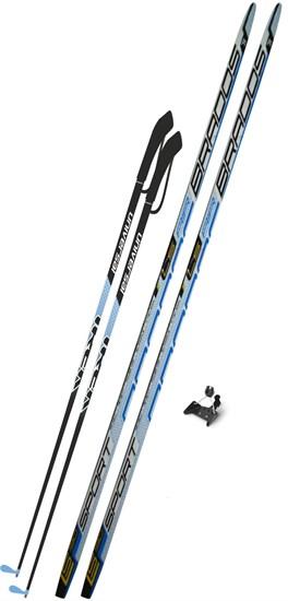 Лыжный комплект с креплением 75 мм