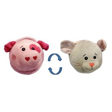 """Мягкая игрушка """"Свинка-мышка 2 в 1"""" 16 см. B29450E-1-16B"""