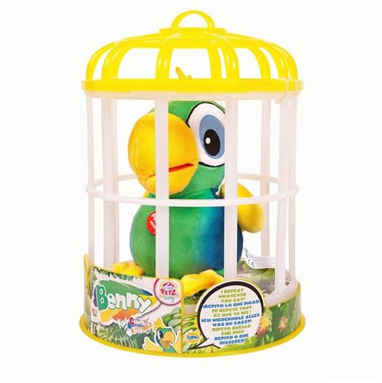 Club Petz Funny Попугай Benny интерактивный (зеленый) 95021