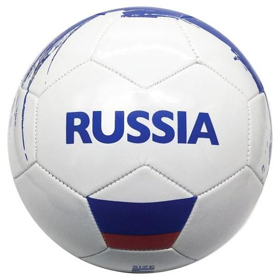 """Мяч футбольный 1-слойный """"RUSSIA"""""""