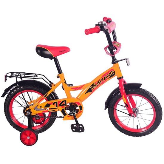 """Велосипед """"MUSTANG"""" 14"""" желт/красн ST14030-GW"""