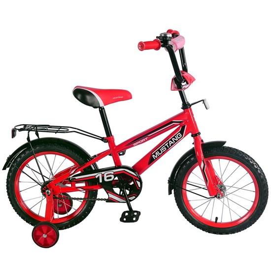 """Велосипед """"MUSTANG"""" 16"""" красн/черн ST16041-NT"""