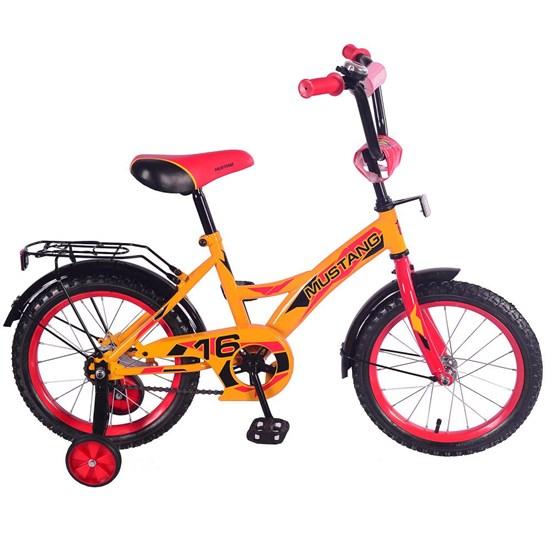 """Велосипед """"MUSTANG"""" 16"""" желт/красн ST16036-GW"""