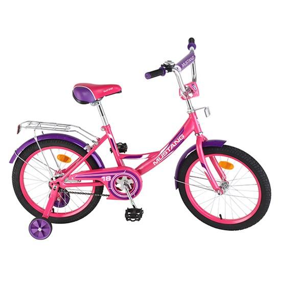 "Велосипед ""MUSTANG""18"" роз/фиолет ST18002-A"