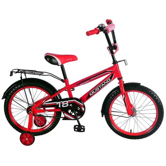 """Велосипед """"MUSTANG""""18"""" красн/черн ST18028-NT"""