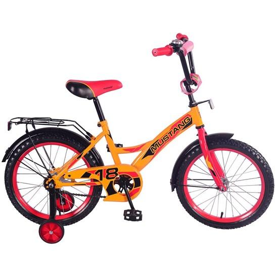 """Велосипед """"MUSTANG"""" 18"""" желт/красн ST18024-GW"""