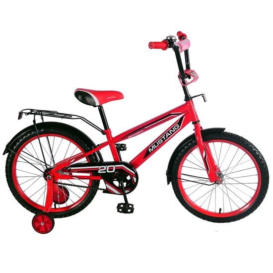 """Велосипед """"MUSTANG"""" 20"""" красн/черн ST20038-NT"""