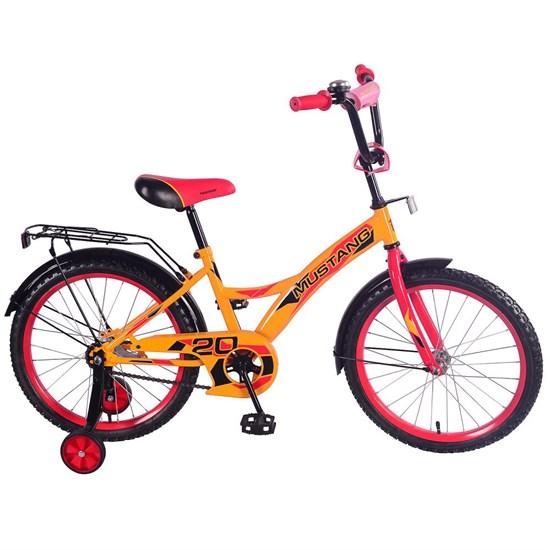 """Велосипед """"MUSTANG"""" 20"""" желт/красн ST20034-GW"""
