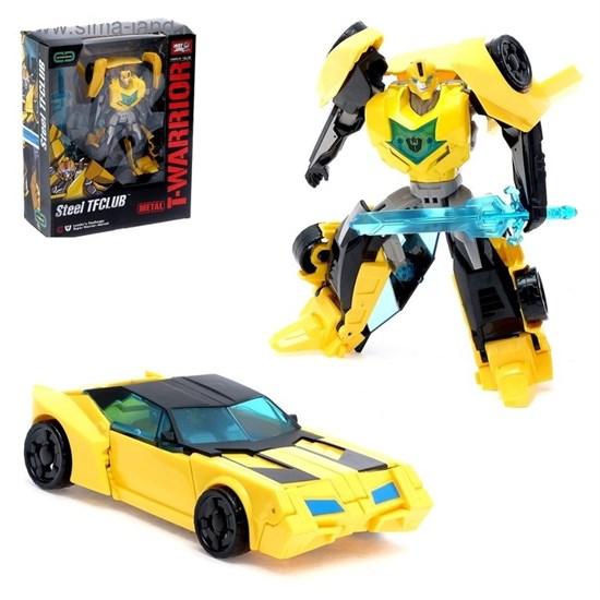 WEI JIANG Робот-трансформер металл «Автобот БамблБи» 2367182
