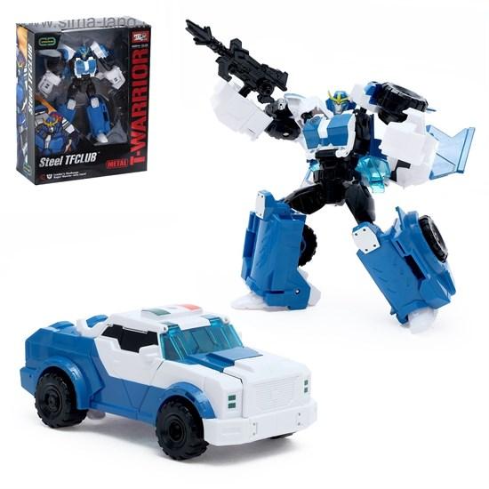 WEI JIANG Робот-трансформер металл «Автобот-полицейский» 2367184
